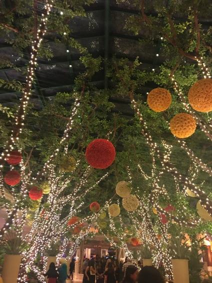 Beautiful display at the Wynn