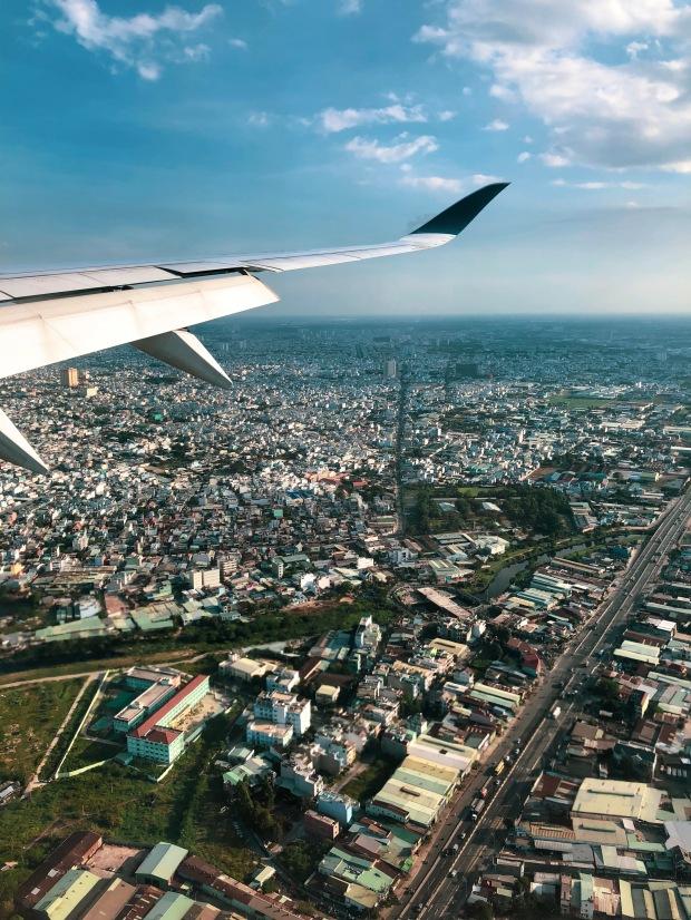 Travelling - airplane views