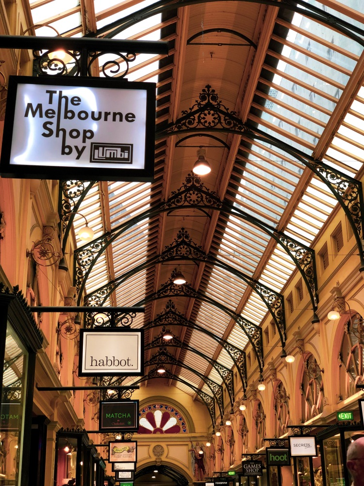 Melbourne - arcades