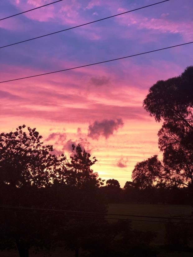 Melbourne - sunset
