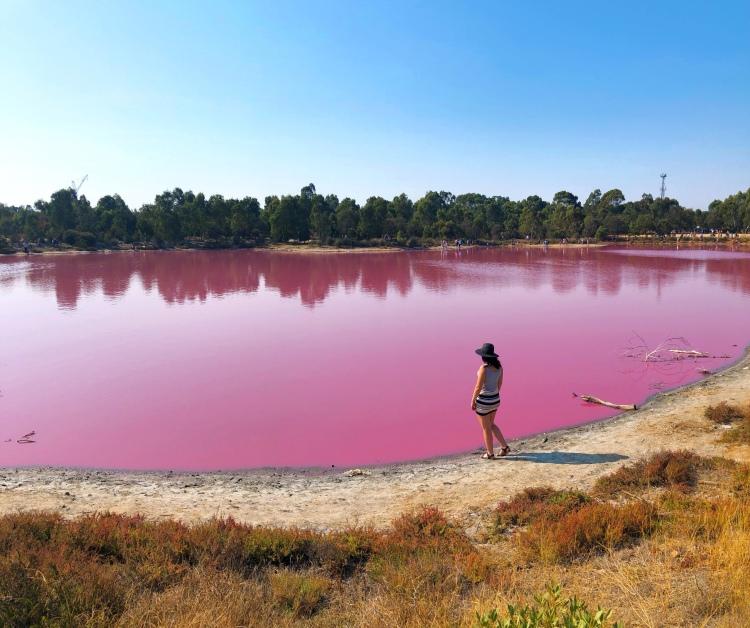 Melbourne - Pink Lake